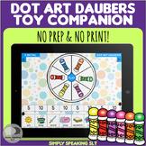 Dot Art Daubers Companion - No Print & No Prep - For Speech & Language
