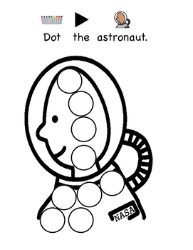 Dot Art Space: Fun With Space