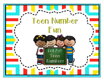 Dot Art Teen Numbers