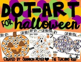 Dot-Art for Halloween