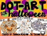 Dot-Art for Halloween