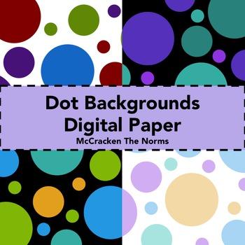 Dot Background Digital Paper