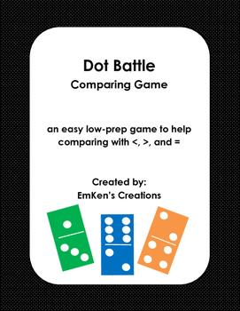 Dot Battle Comparing Game