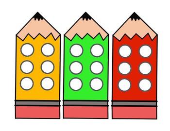 Dots Behavior Reinforcement and Color Match Mats