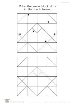 Dot Block Pattern