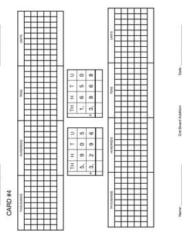 Dot Board Set 2