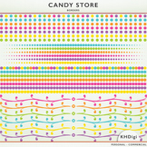 Dot Borders - From the Candy Store Collection