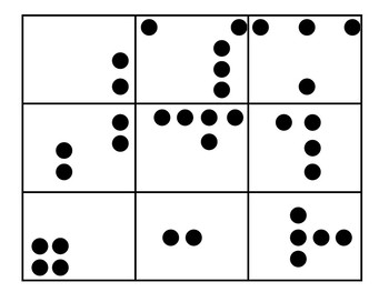 Dot Cards - Game Pieces