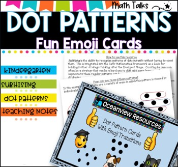 Dot Patterns Teaching Resources | Teachers Pay Teachers
