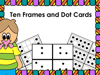 Dot Cards and Ten Frames Cards