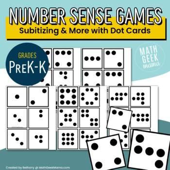 Dot Cards for Number Sense Games