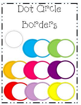 Dot Circle Borders