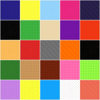 Dot Circles Background Paper Bundle Digital Cover Page PNG Commercial Personal
