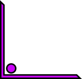 Dot Corner Frames Clip Art