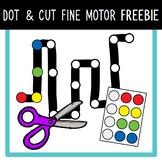 Dot & Cut Fine Motor FREEBIE