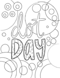 Dot Day Activity- Coloring Page