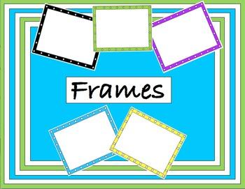 Dot, Diamond, Star, Square Frames