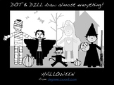 Dot & Dill Draw Almost Everything ~ HALLOWEEN
