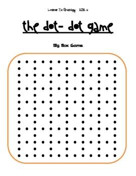 Dot-Dot Addition & Subtraction Partner Math Game