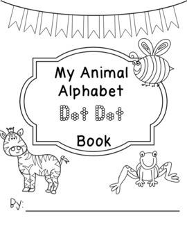 Dot to Dot Alphabet Book