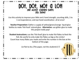 Dot Dot Not a Lot! Fine Motor ARTivity- Fish Theme