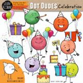 Dot Dudes Celebration Clip Art