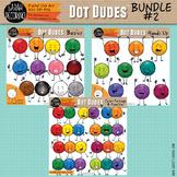 Dot Dudes Clip Art BUNDLE #2