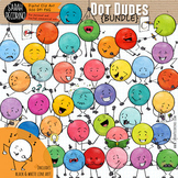 Dot Dudes Clip Art Bundle 1