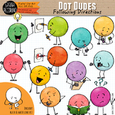 Dot Dudes Clip Art: Following Directions