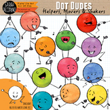 Dot Dudes Clip Art: Helpers, Movers & Shakers