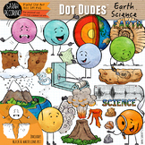 Dot Dudes Earth Science Clip Art