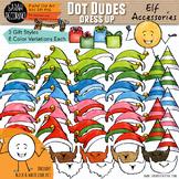 Dot Dudes Elf Accessories Clip Art