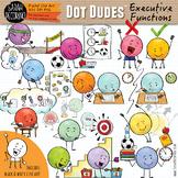 Dot Dudes Executive Functions Clip Art