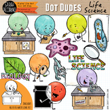 Dot Dudes Life Science/Biology Clip Art