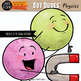Dot Dudes Physics Clip Art