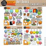 Dot Dudes STEM Clip Art Bundle 1 - Life and Earth Science,