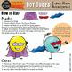 Dot Dudes Super Capes and Masks Clip Art