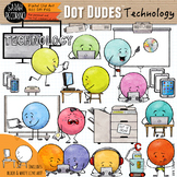Dot Dudes Technology Clip Art