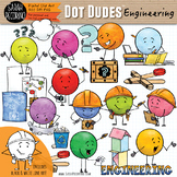 Dot Dudes Engineering and Design Process Clip Art