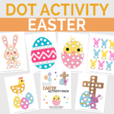 Dot Easter Activity Pack, Preschool Season Dot Worksheets