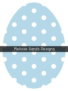 Dot Easter Eggs {Graphics for Commercial Use}