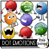Dot Emotions (The Price of Teaching Clipart Set)