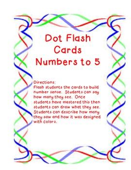 Dot Flash Cards