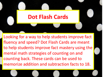 Dot Flash Cards