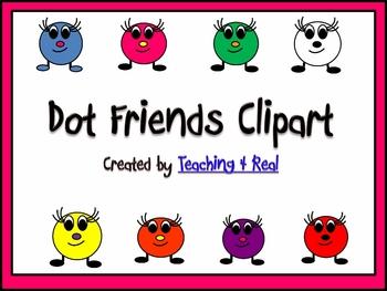 Dot Friends Clipart/Graphics