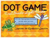Dot Games with First Grade Sight Words