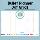 Dot Grid Clipart for Bullet Planners and Journaling