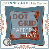 Dot Grid Pattern Play for Visual Perception and More -An Art for Brains Activity