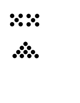 Dot Images For Teen Numbers
