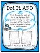 Dot-It ABC & Number BUNDLE {NO PREP}